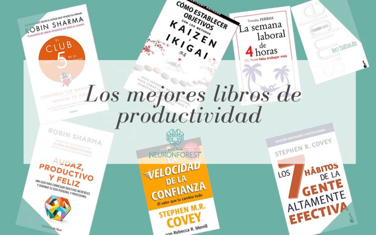 Los mejores libros de productividad